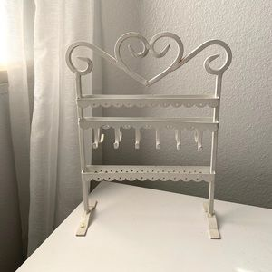 Urban Outfitters Rustic Jewelry Organizer Stand